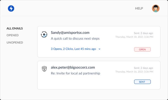 MailerPlex Mailtrack email tracking Dashboard